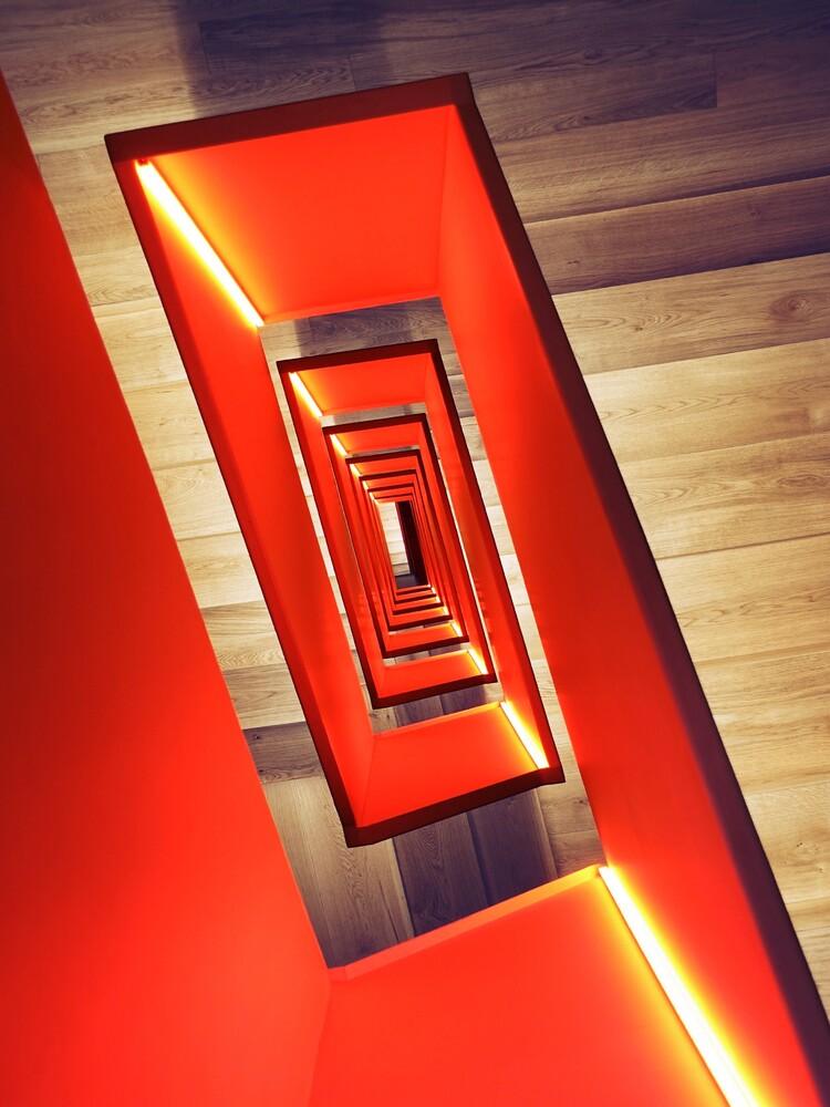 Red diagonal - fotokunst von Roc Isern