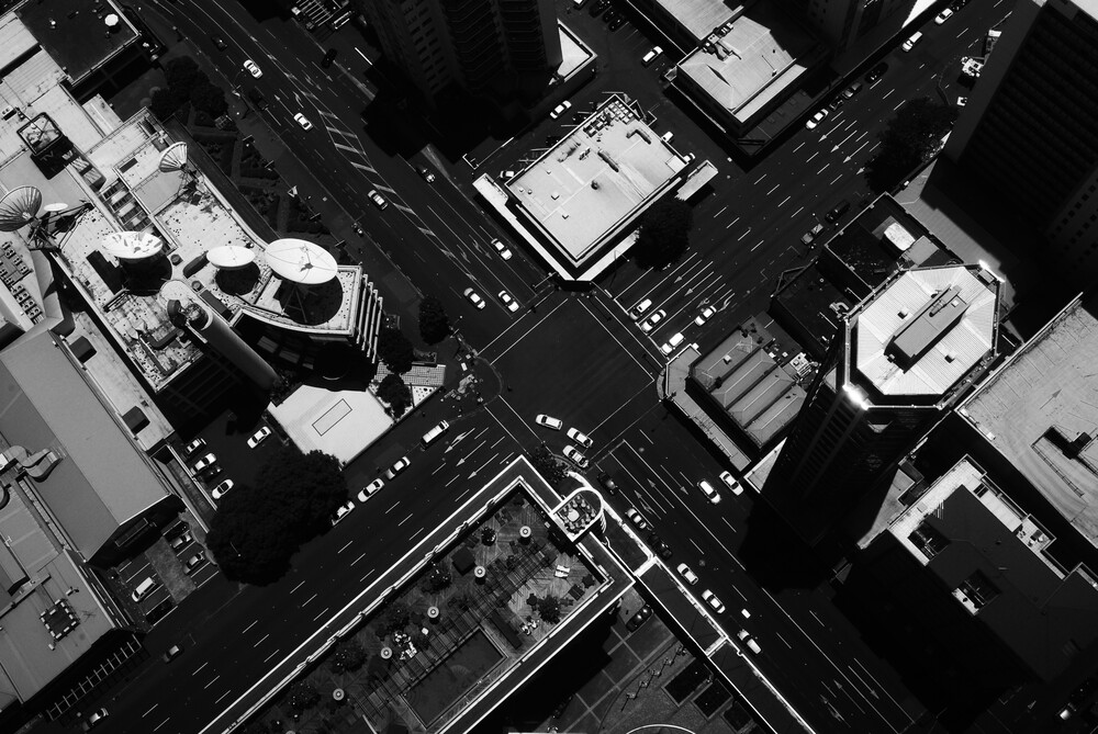 Auckland from above - Fineart photography by Markus Enenkel