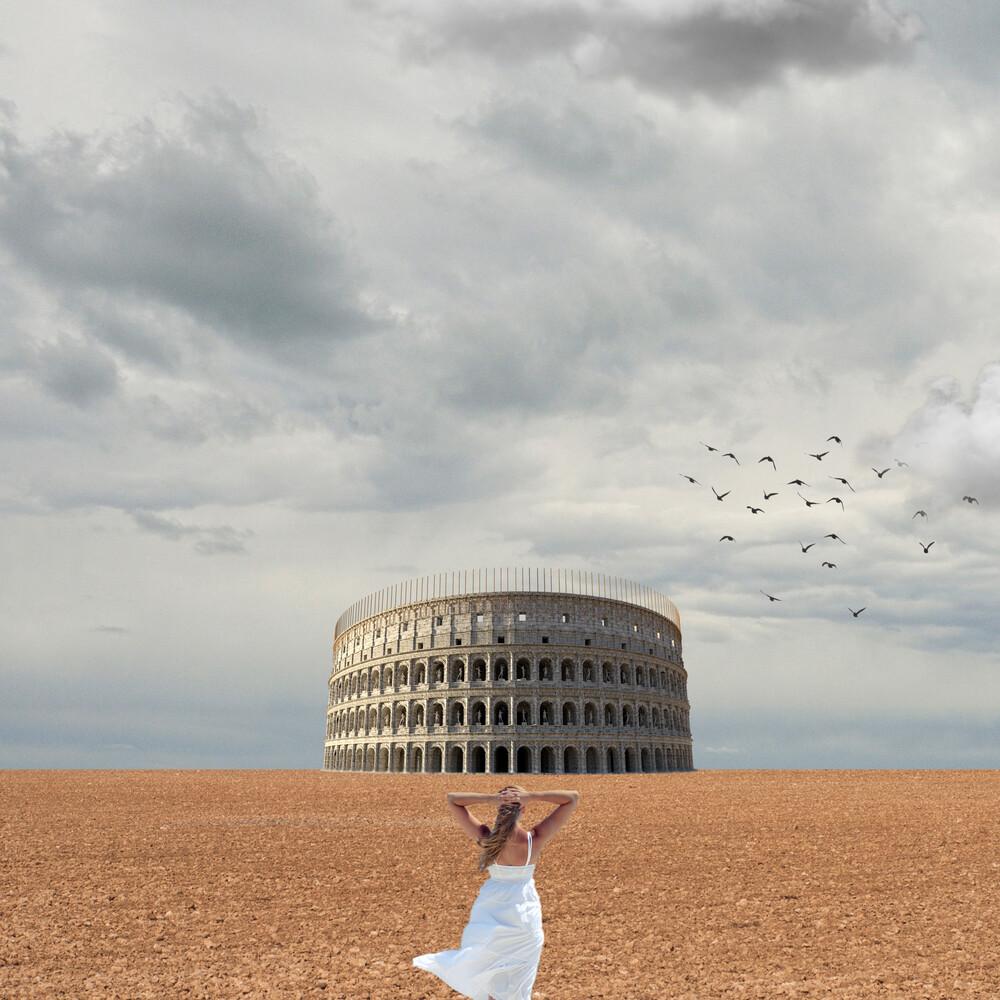 Rome from my eyes - fotokunst von Caterina Theoharidou