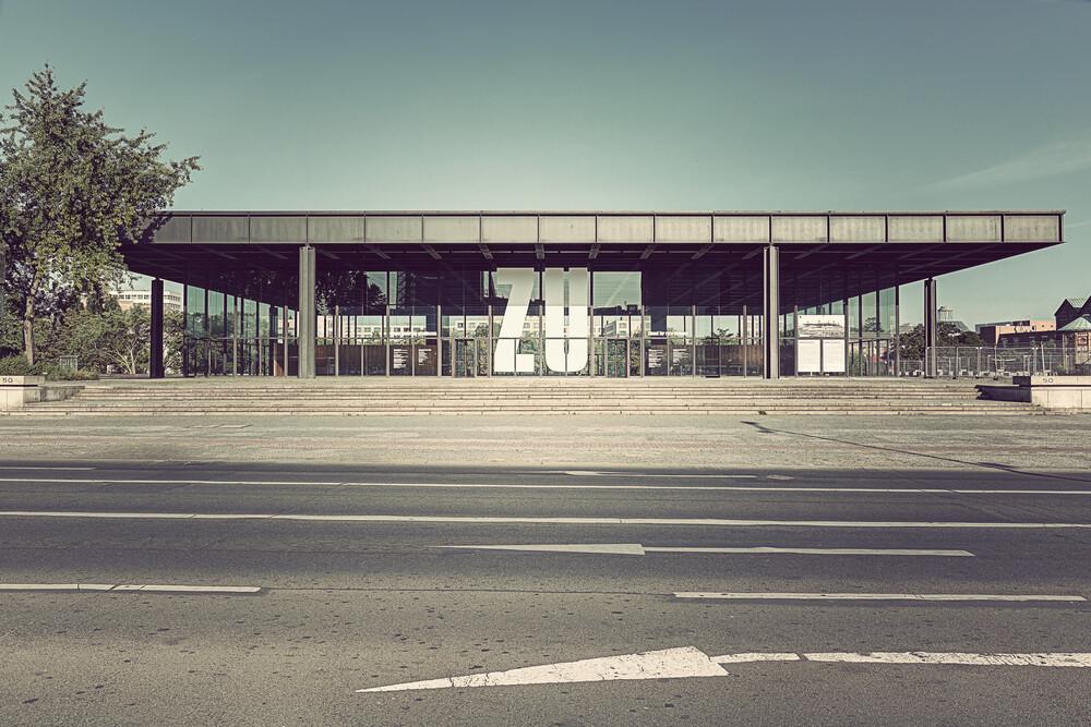Neue Nationalgalerie - Fineart photography by Michael Belhadi