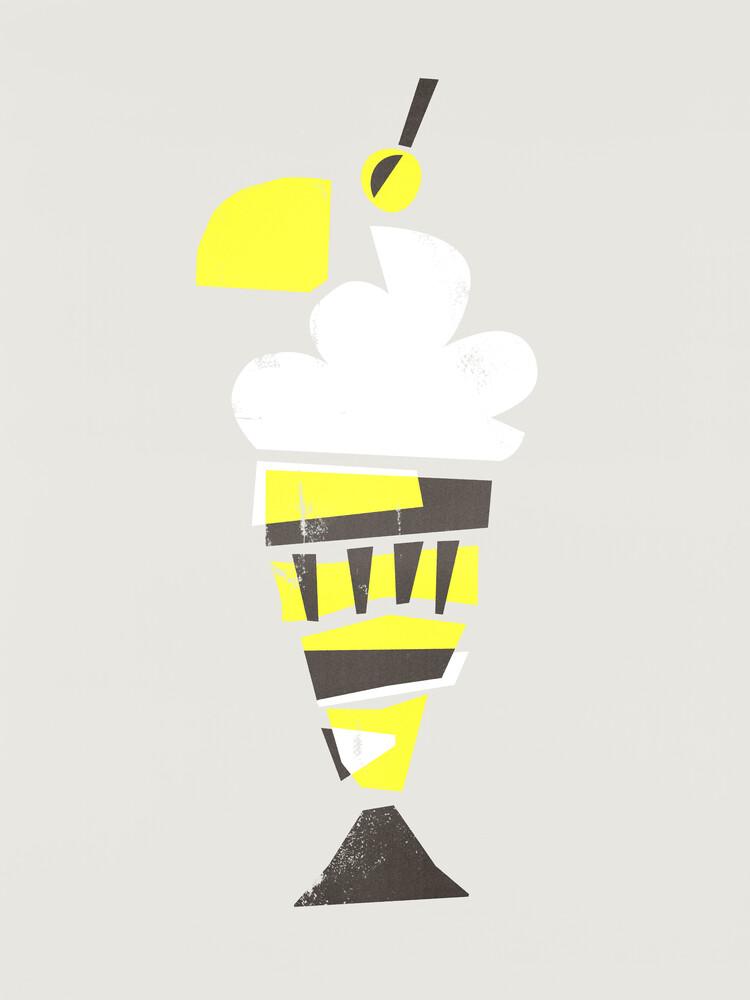Ice Cream Sundae - fotokunst von Fox And Velvet