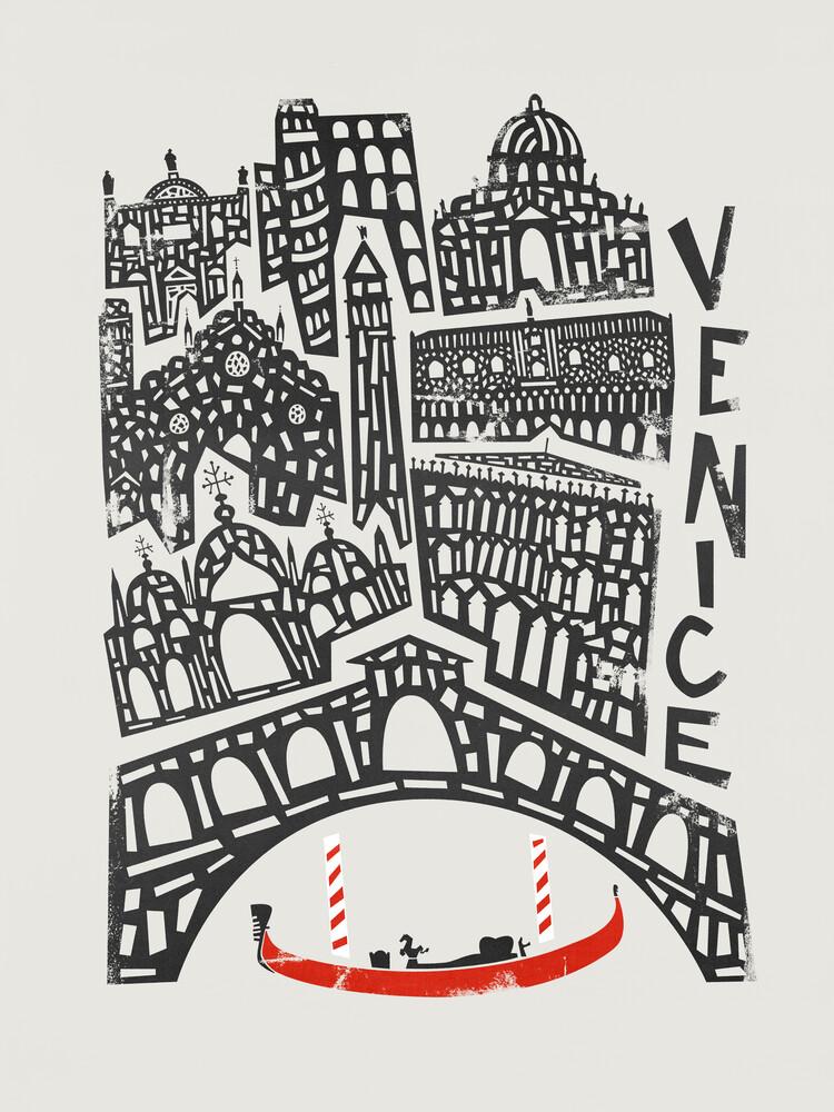 Venice Cityscape - fotokunst von Fox And Velvet