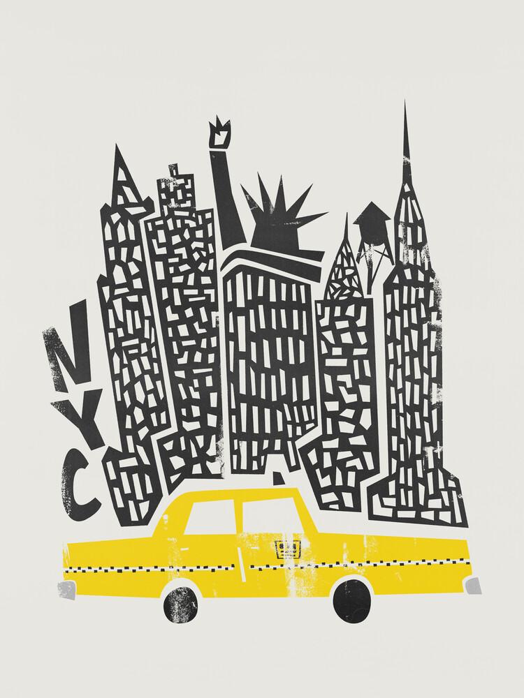 New York Cityscape - fotokunst von Fox And Velvet