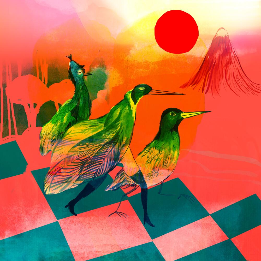 Bird parade - fotokunst von Alexandra Sternin