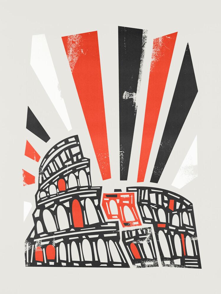 The Colosseum - fotokunst von Fox And Velvet