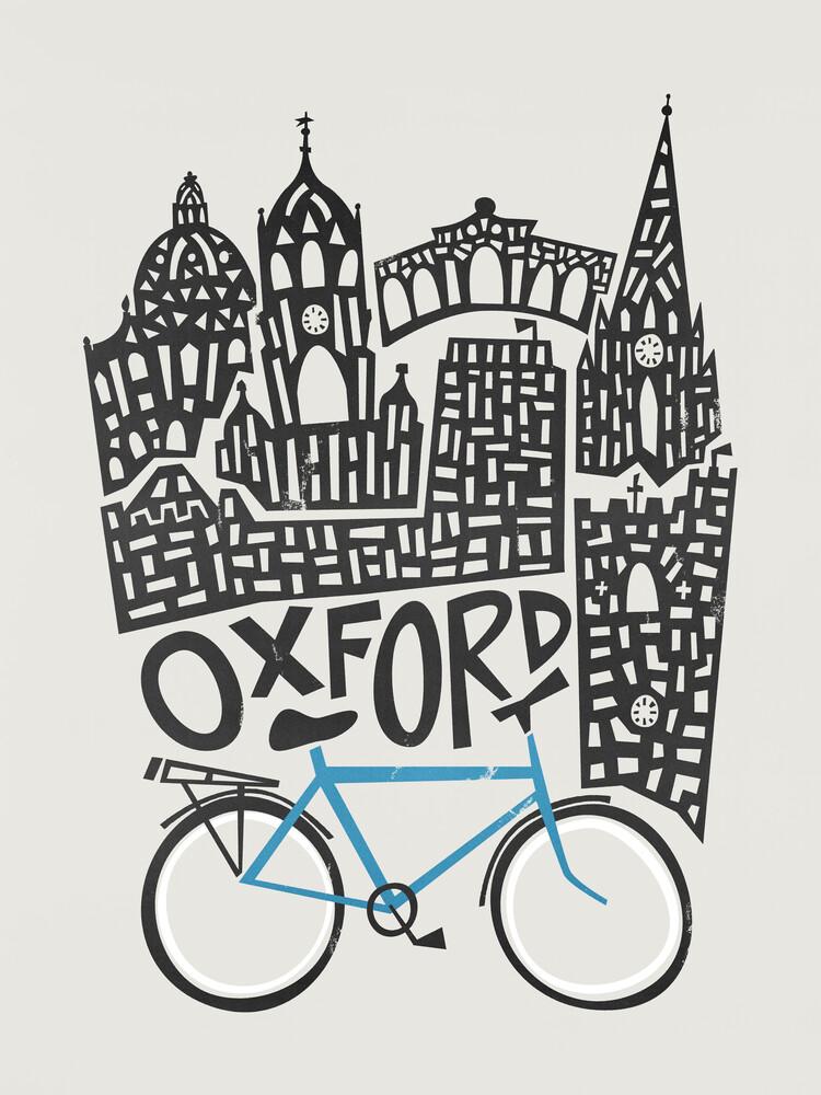 Oxford Cityscape - fotokunst von Fox And Velvet