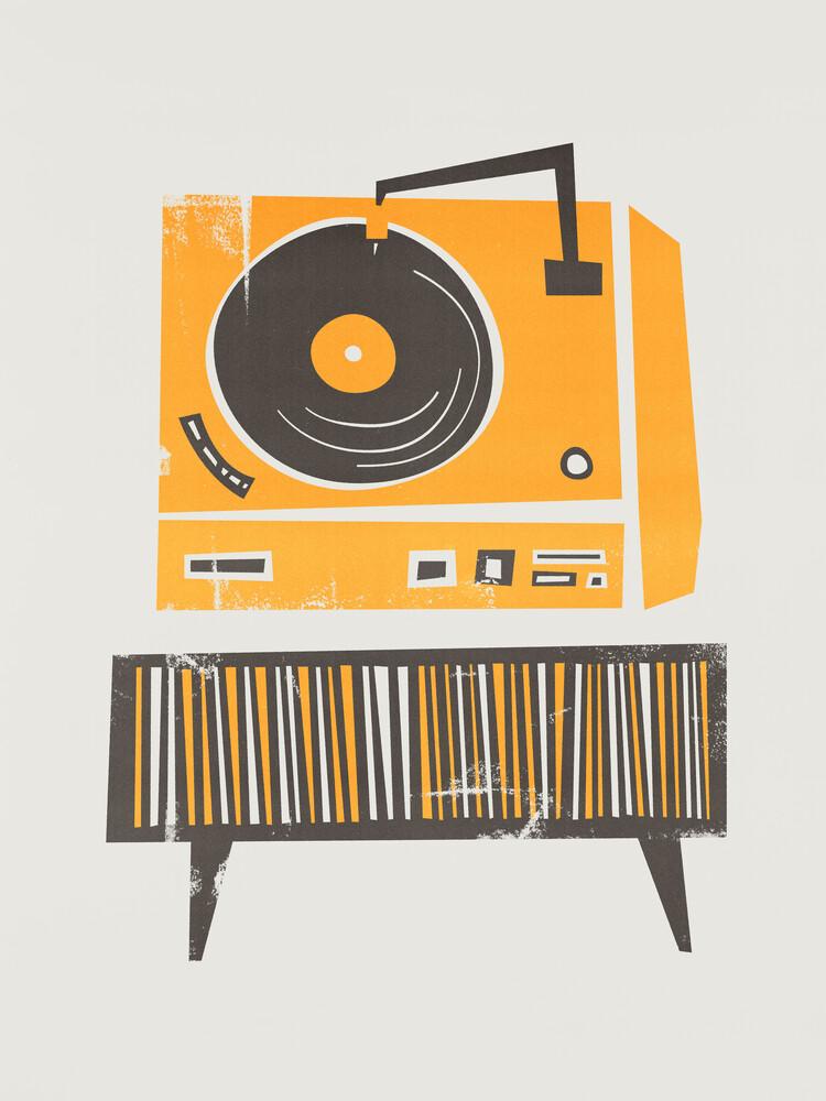 Vinyl Deck - fotokunst von Fox And Velvet