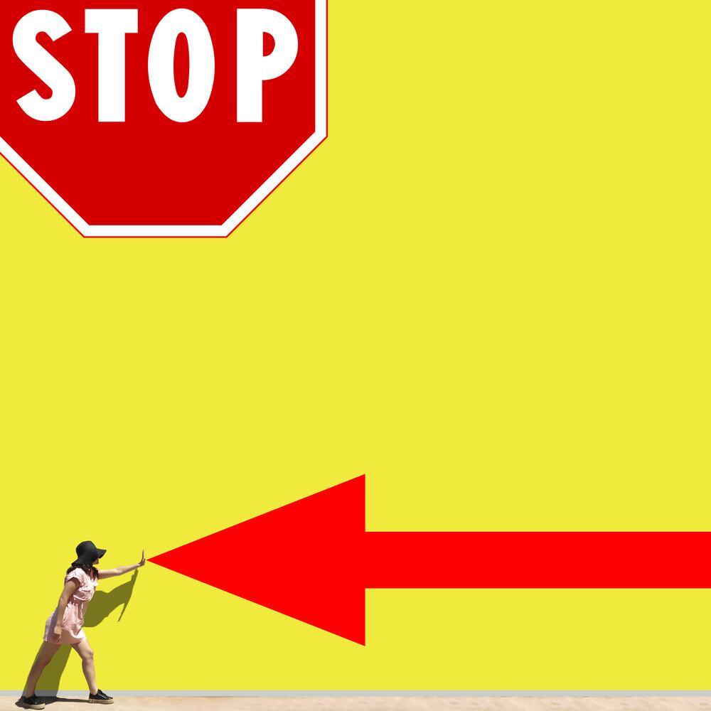Stop! - fotokunst von Pascal Krumm