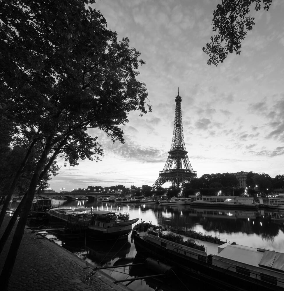PORT DEBILY - PARIS - fotokunst von Christian Janik