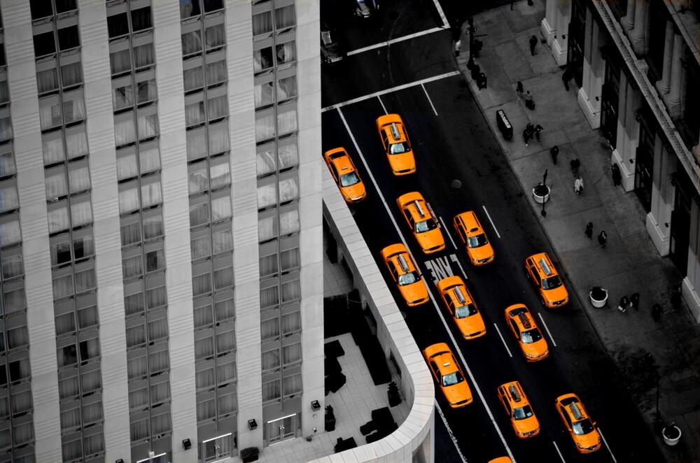 Cab Mania - fotokunst von Michael Stoll