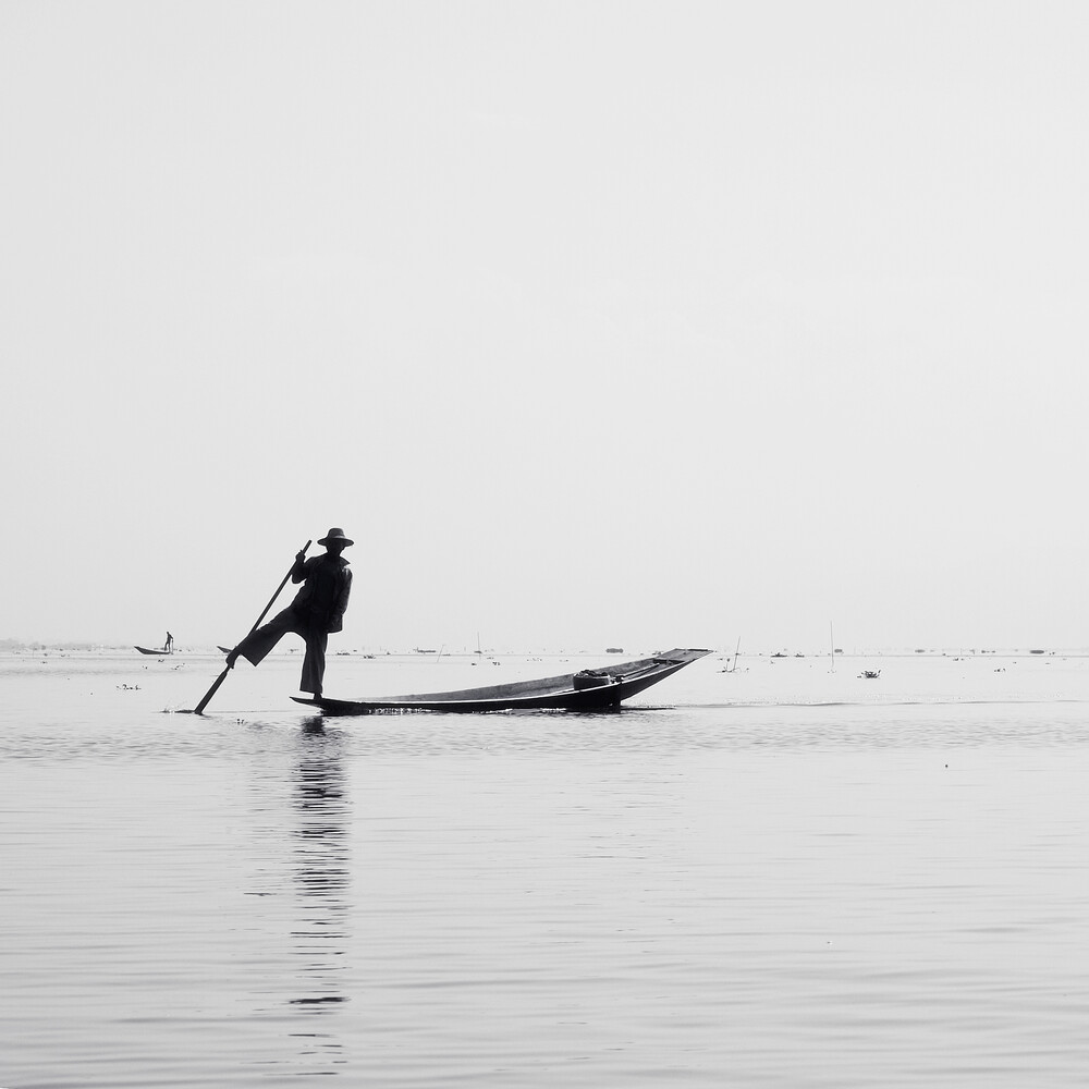 Inle Fisher - Fineart photography by Nina Papiorek