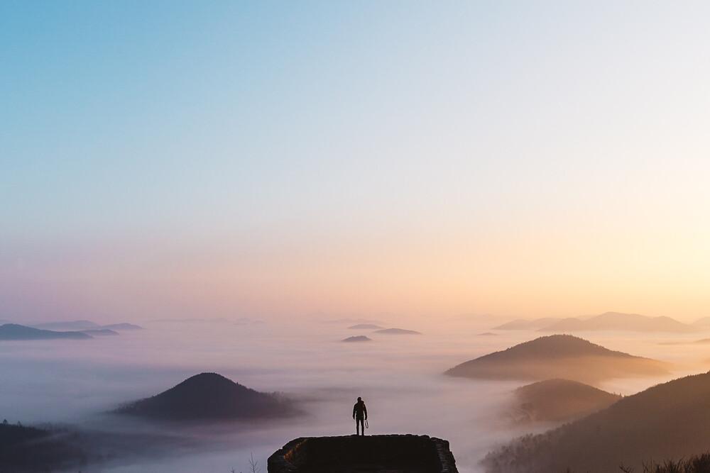 Heaven Above The Clouds - fotokunst von Asyraf Syamsul