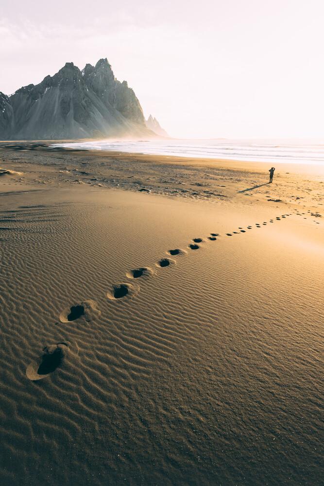Der goldene Strand - fotokunst von Patrick Monatsberger