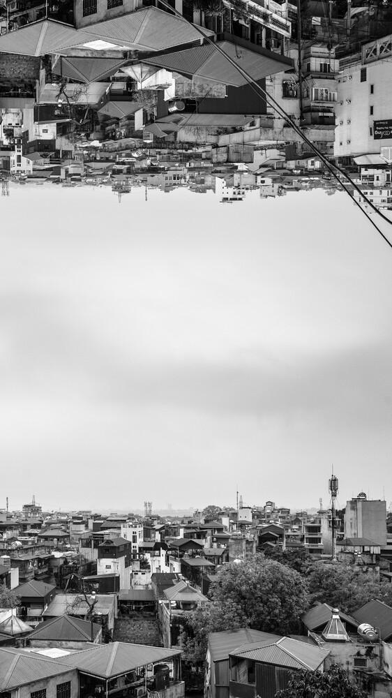 hanoi upside-down - Fineart photography by Arno Kohlem