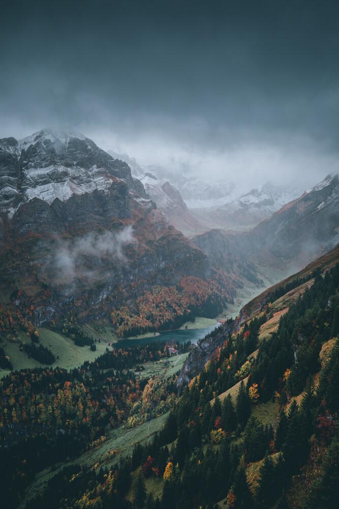 Der alpine Herbst - fotokunst von Dorian Baumann