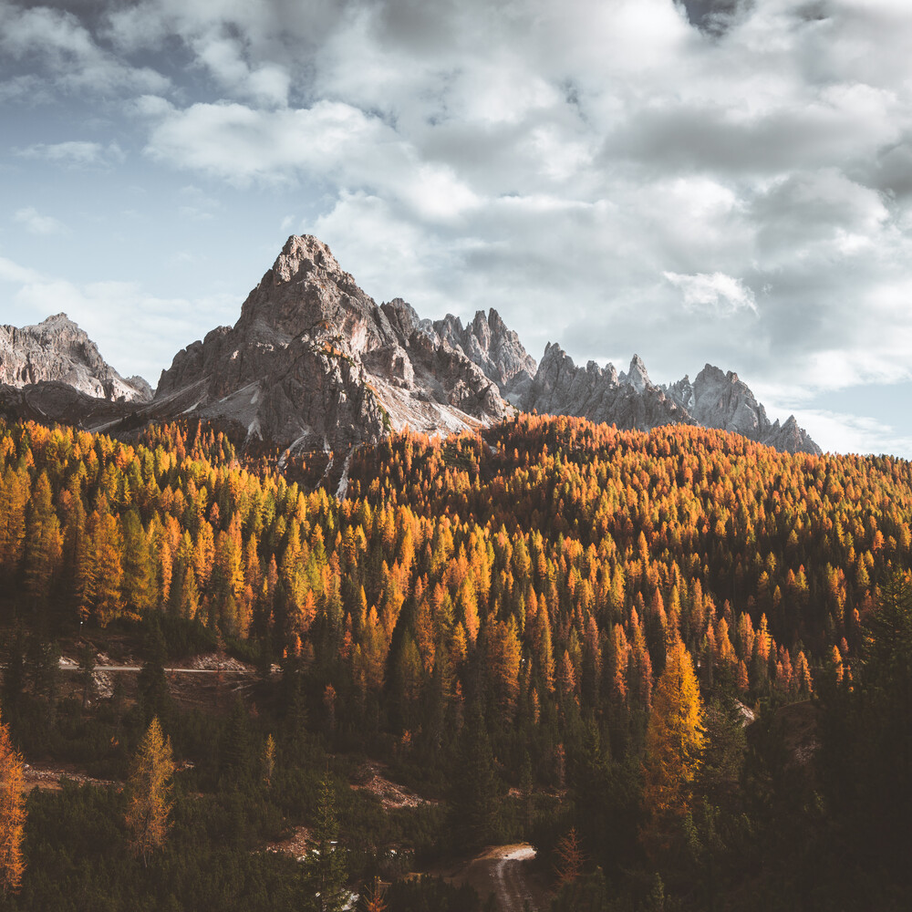 Italienischer Herbst - fotokunst von Dorian Baumann