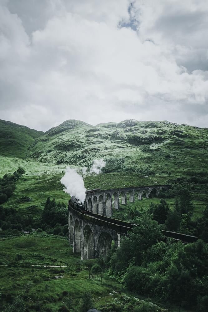 Hogwartsexpress - fotokunst von Dorian Baumann