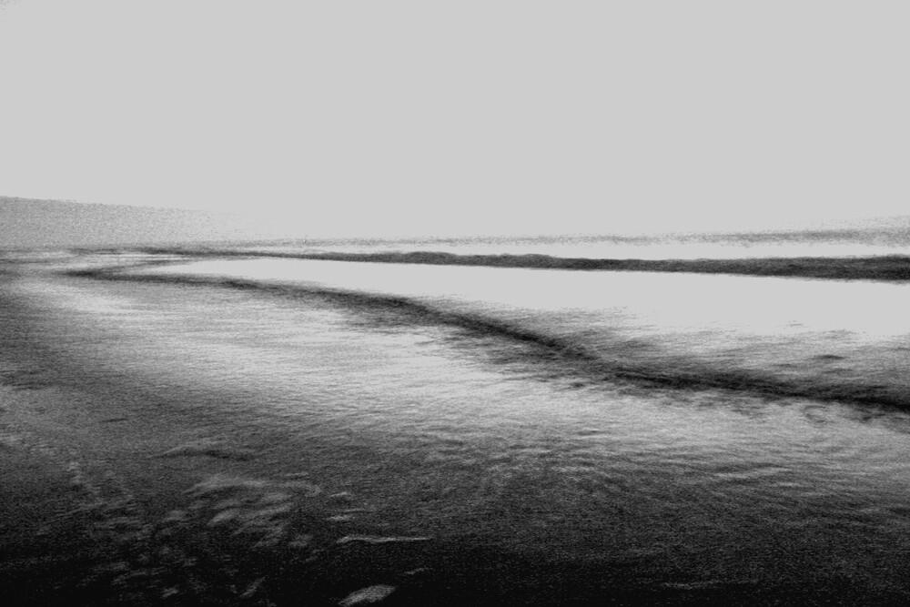 nordsee by nacht - fotokunst von Tim Bendixen