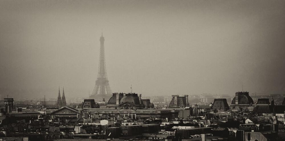 Eiffelturm - fotokunst von Jochen Fischer