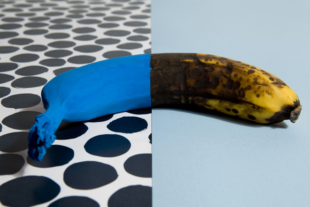 Chameleon banana - Fineart photography by Loulou von Glup