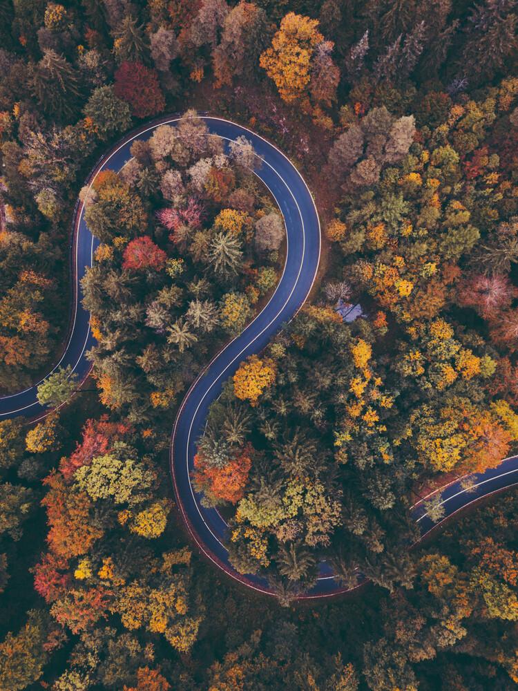 Winding Roads - Fineart photography by Gergo Kazsimer