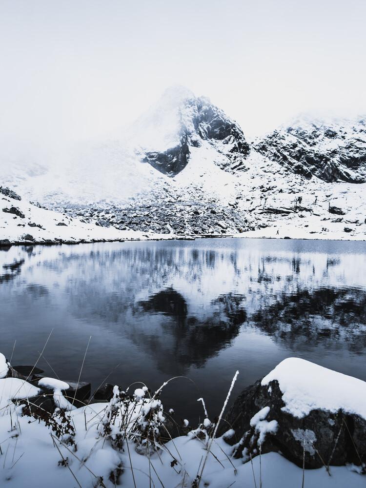 Eiskalt - fotokunst von Frithjof Hamacher