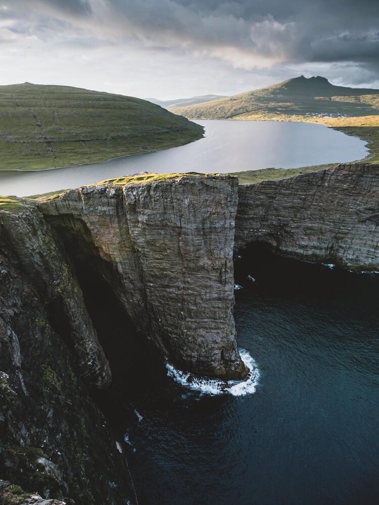 See über dem Atlantik - fotokunst von Jan Keller