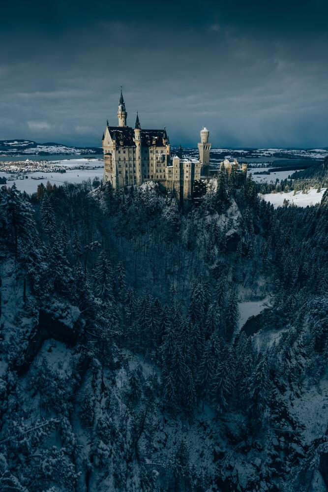 Neuschwanstein - fotokunst von Dominik Wierl