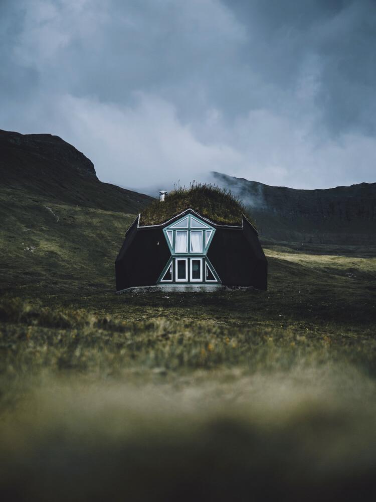 Faroese Cabin - fotokunst von Jan Keller