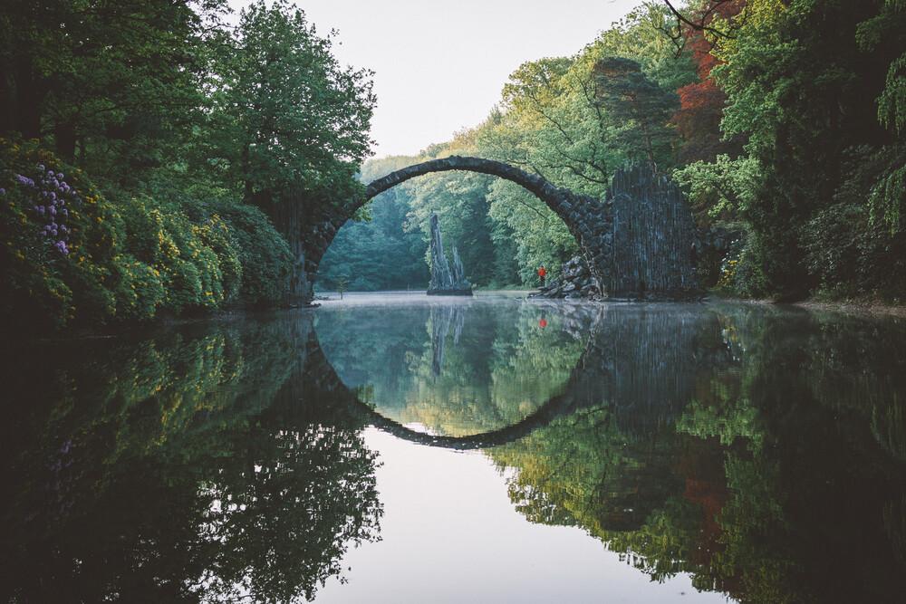Rakotzbrücke - fotokunst von Johannes Hulsch