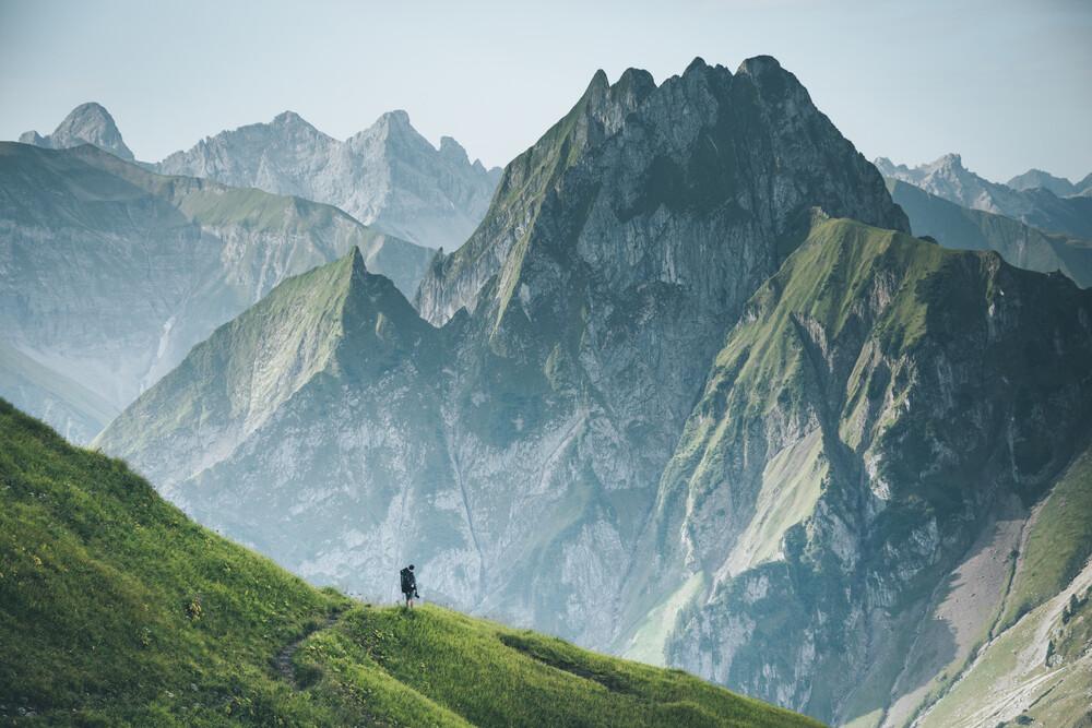 Der Berg ruft - fotokunst von Johannes Hulsch