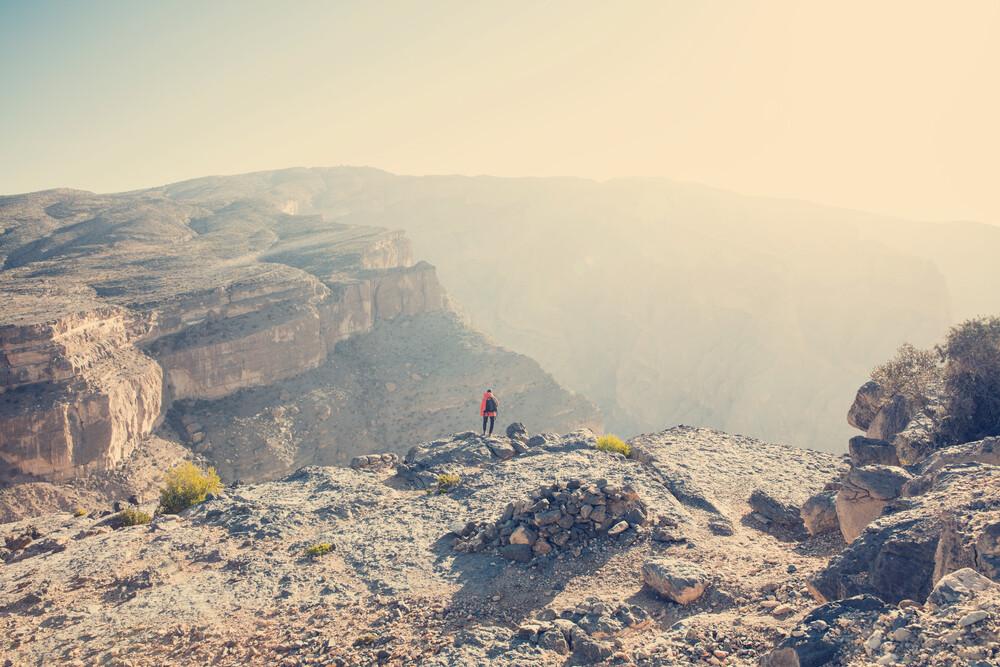 Felsenwüste und Canyon - fotokunst von Franz Sussbauer