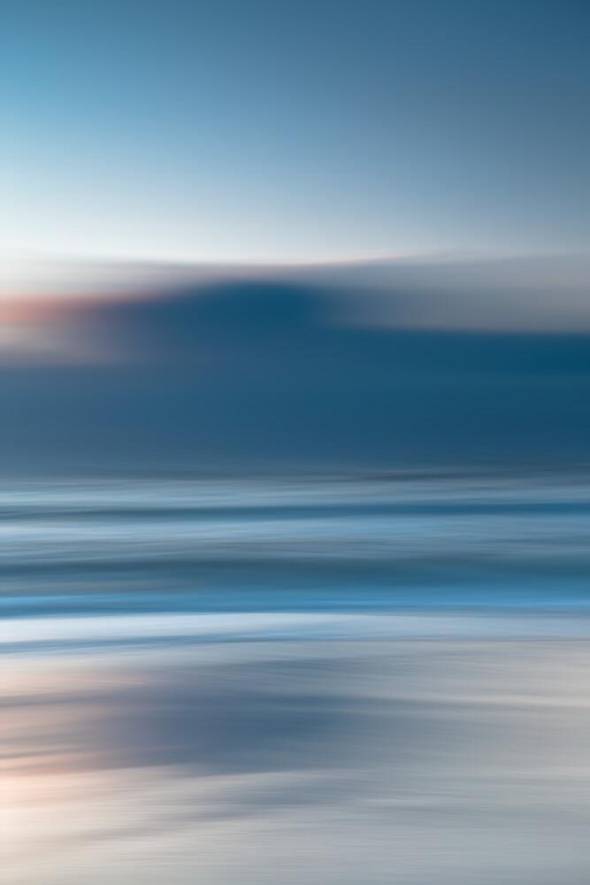 Moody Sunset - fotokunst von Holger Nimtz