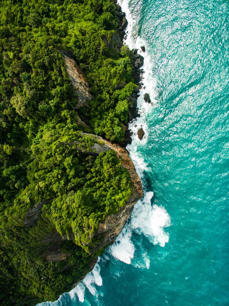When the Sea meets the Rocks - fotokunst von Konrad Paruch