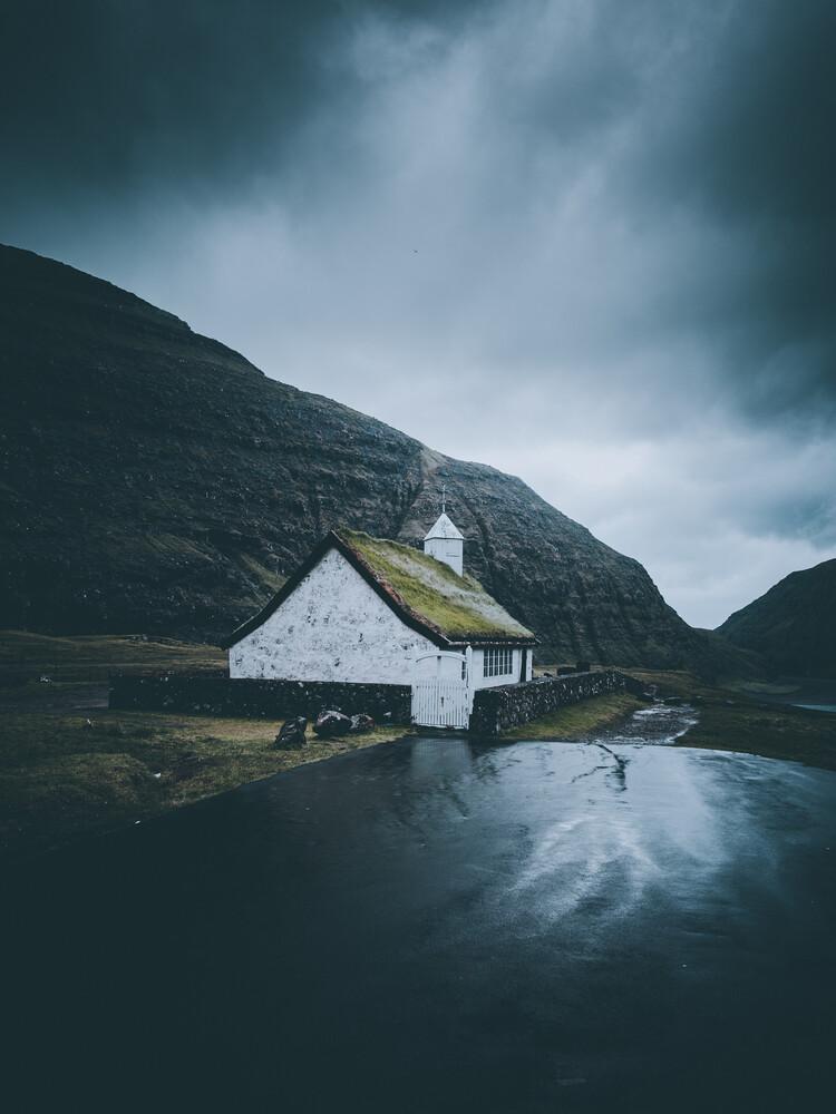 Die Kirche - fotokunst von Dorian Baumann