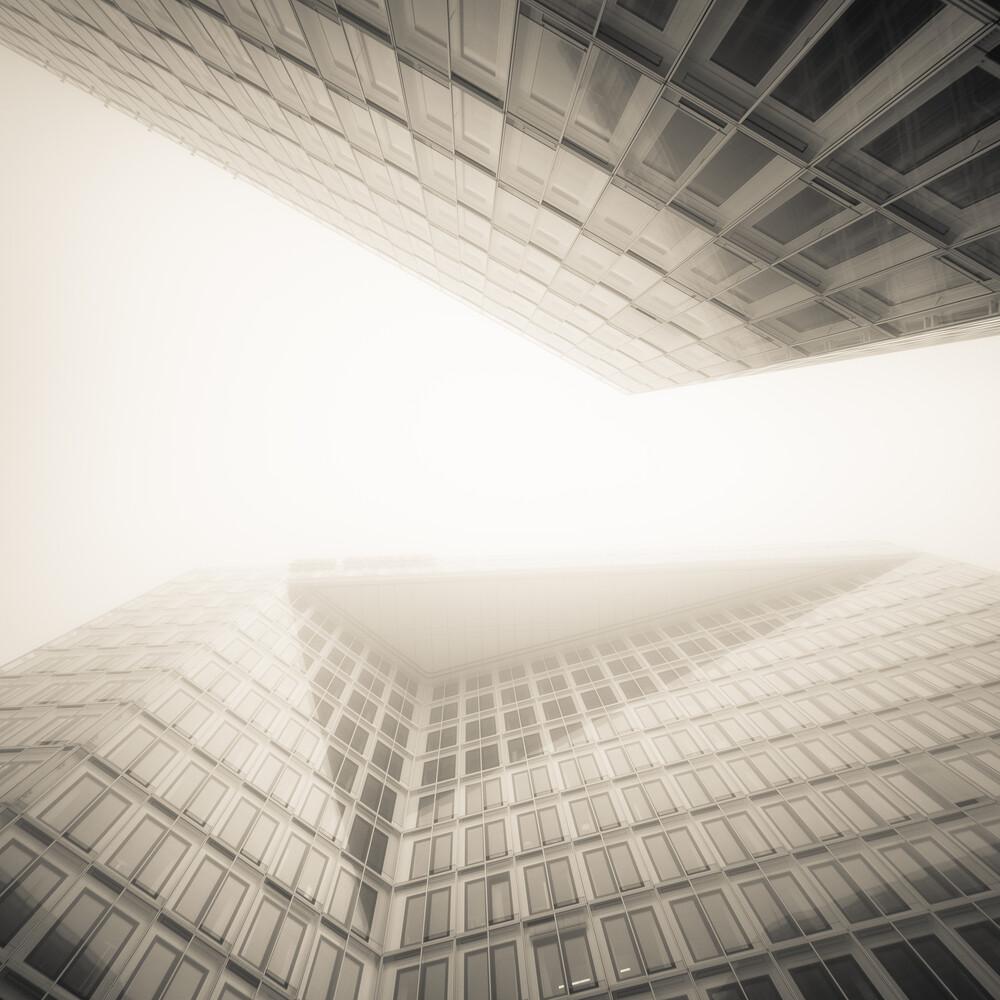 moin hamburch - Spiegelgebäude - fotokunst von Dennis Wehrmann
