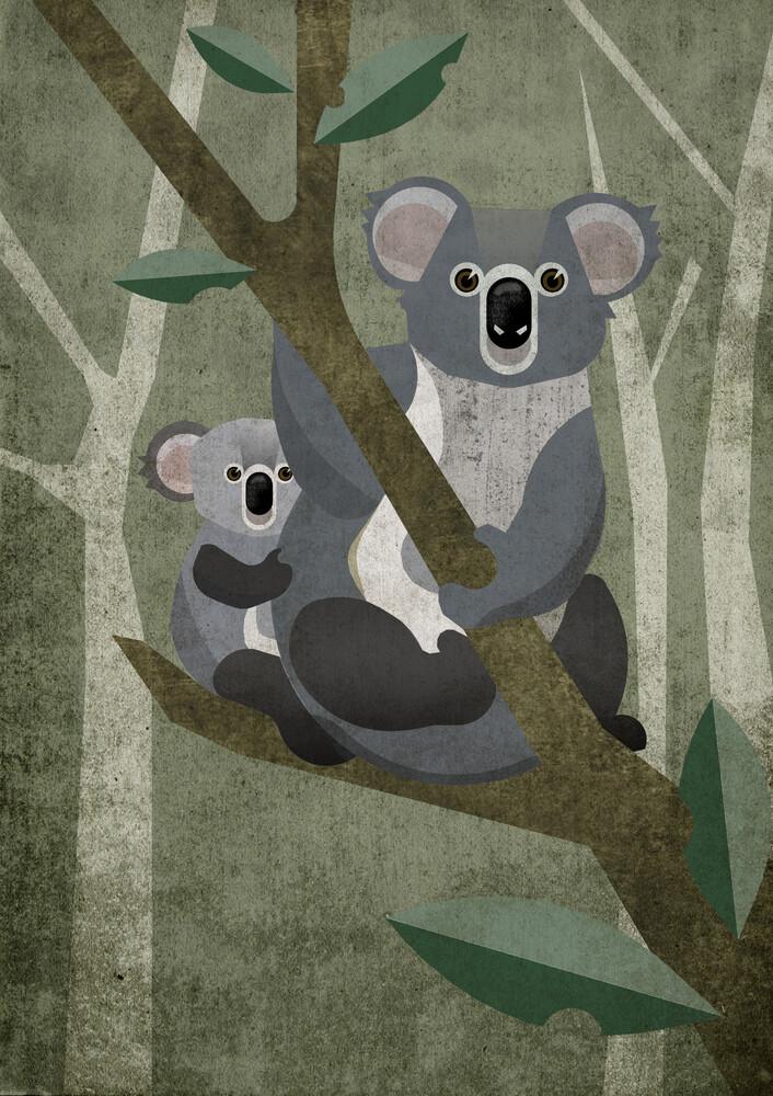 Koala - fotokunst von Sabrina Ziegenhorn