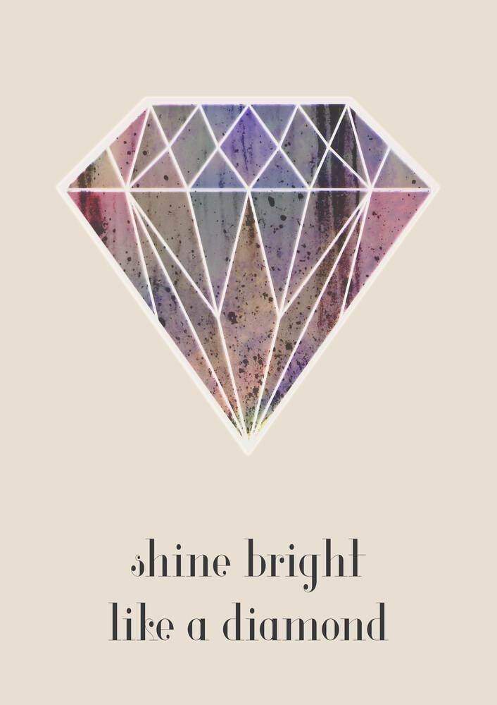 shine bright - fotokunst von Sabrina Ziegenhorn