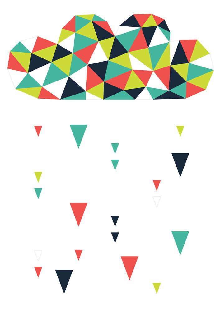 Origami-Wolke - fotokunst von Sabrina Ziegenhorn