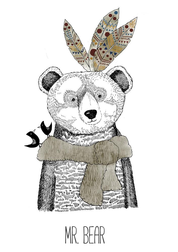 Mr. Bear - fotokunst von Sabrina Ziegenhorn