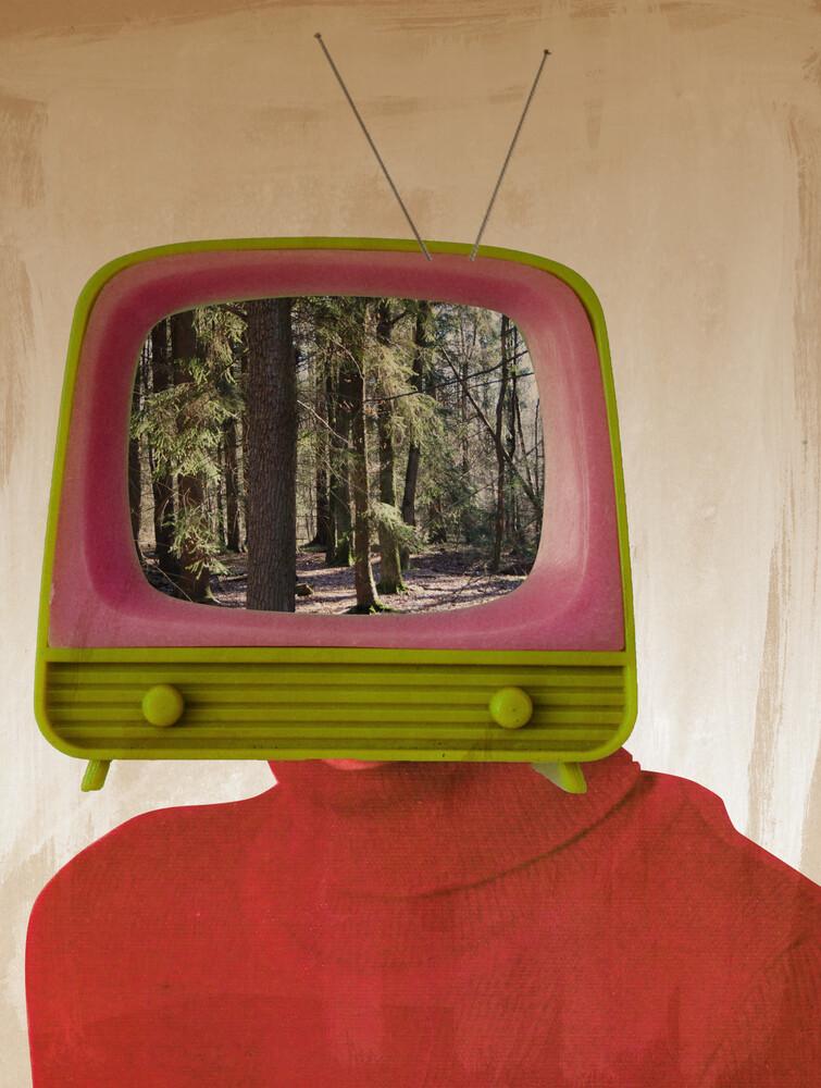 Das kleine Fernsehspiel - fotokunst von Marko Köppe