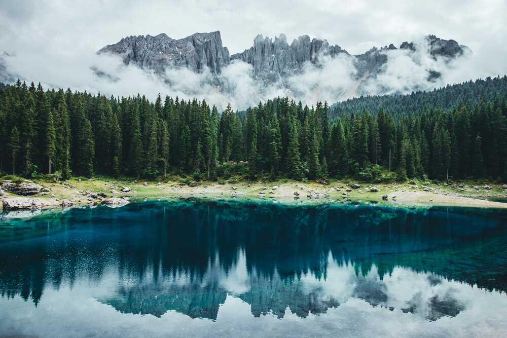 Karersee - Fineart photography by Patrick Eichler
