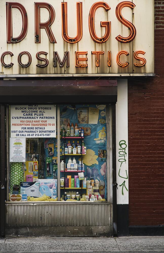 East Village's Drugs - fotokunst von Gaspard Walter