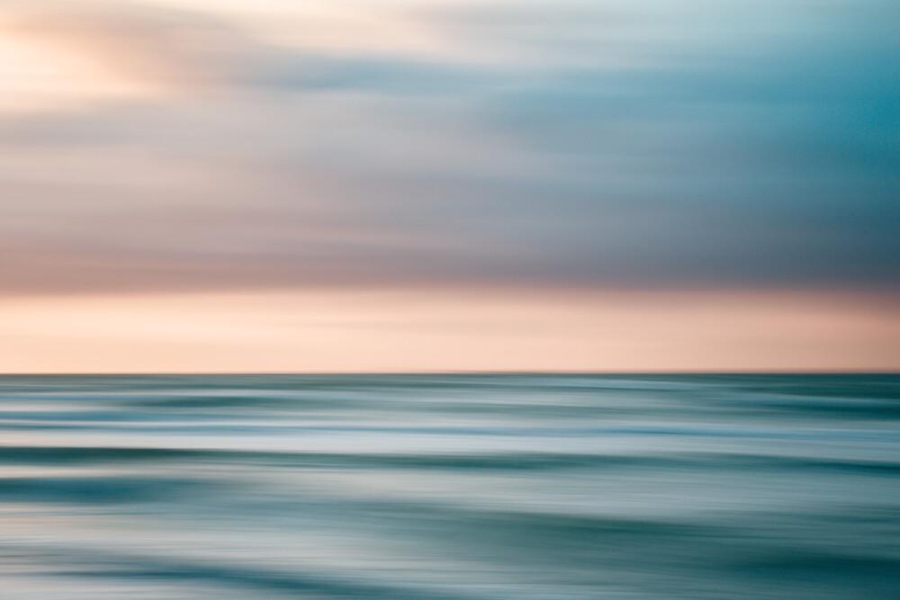 Sunset at Baltic Sea - fotokunst von Holger Nimtz