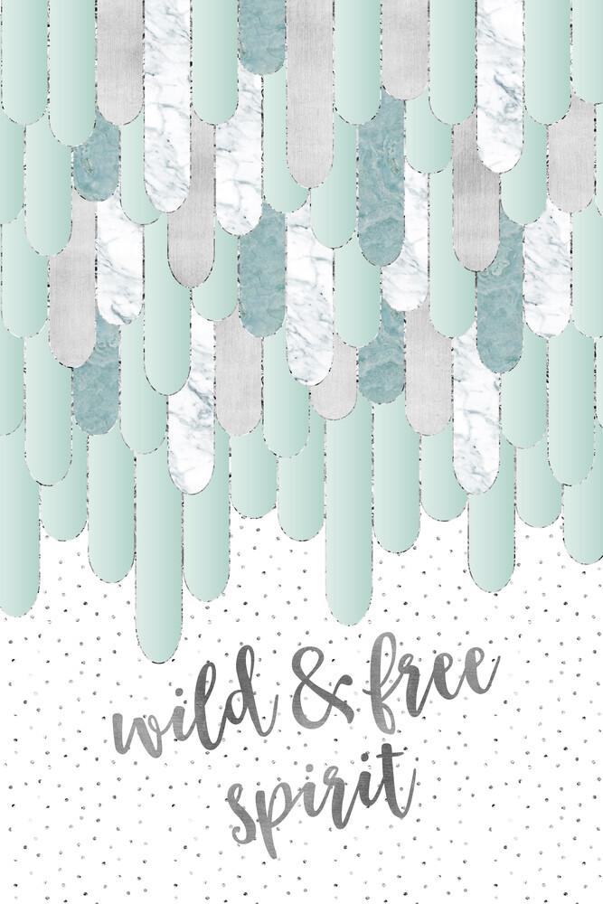 WILD & FREE SPIRIT - fotokunst von Melanie Viola