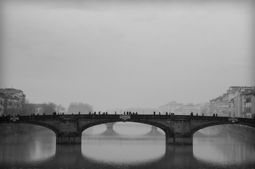Winter in Florenz - fotokunst von Katharina Stöcker