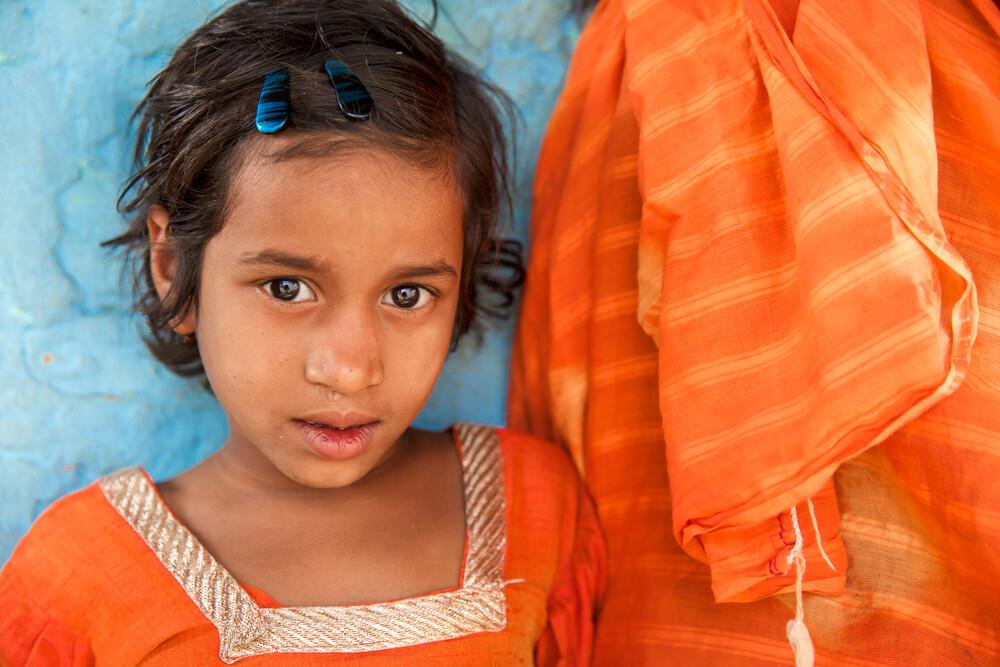 Blue & Orange - fotokunst von Miro May