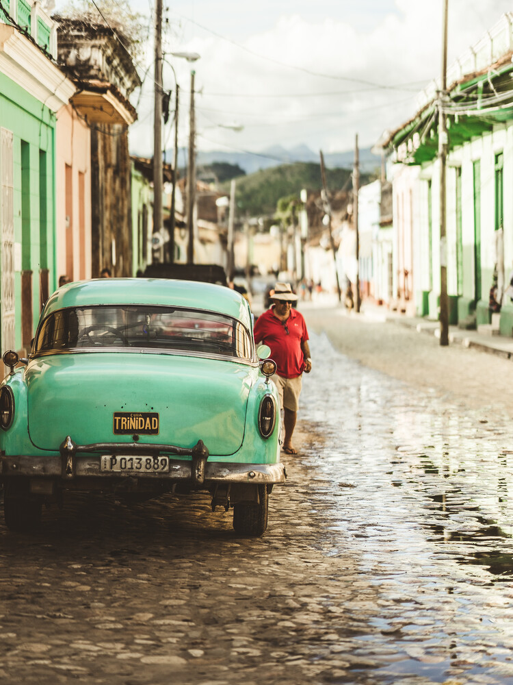 Trinidad streets - Fineart photography by Dimitri Luft