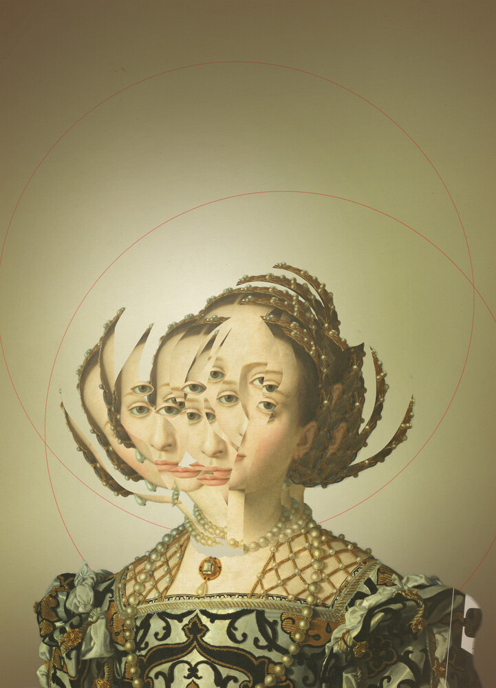 Another Portrait Disaster · Casandra 1 - fotokunst von Marko Köppe