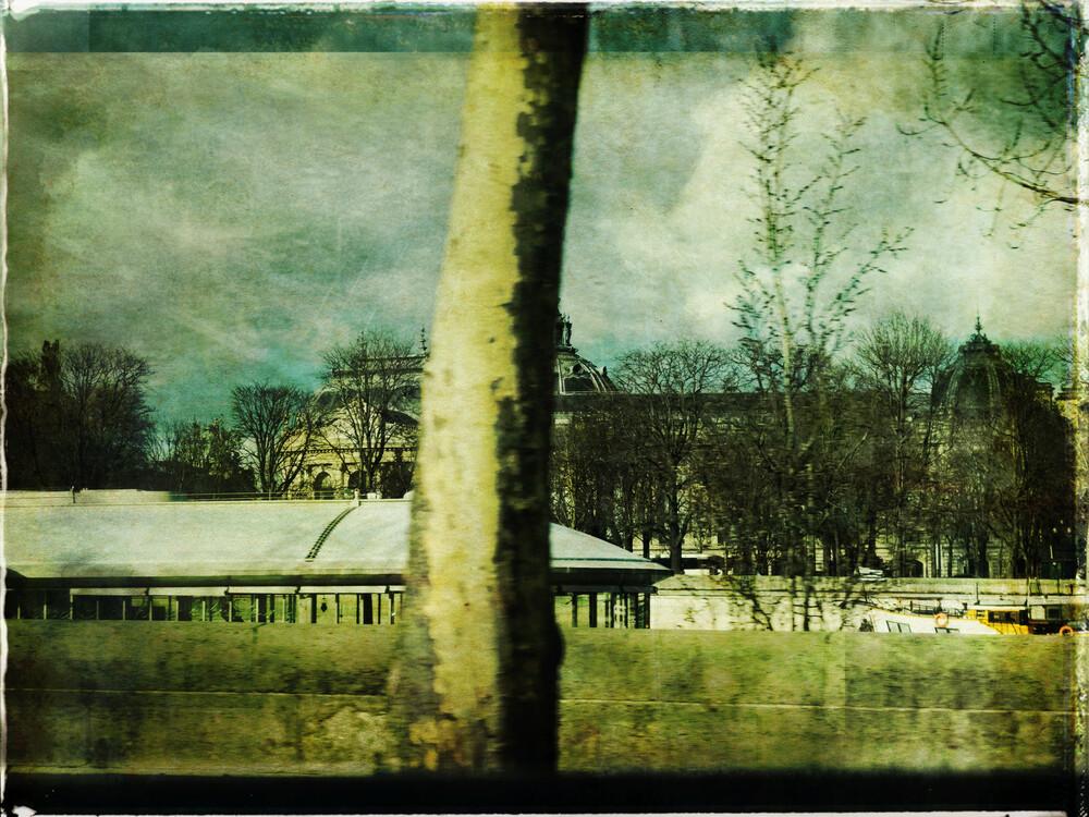 Bords de Seine - fotokunst von Sophie Etchart